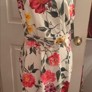 New York & Company Dresses - Floral White NY&Co Dress